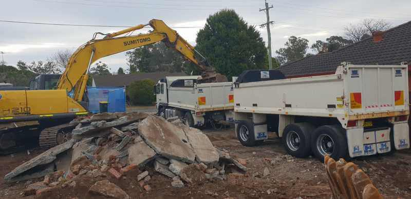 House Demolition Belfield Waste Removal