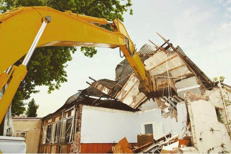House Demolition Belfield